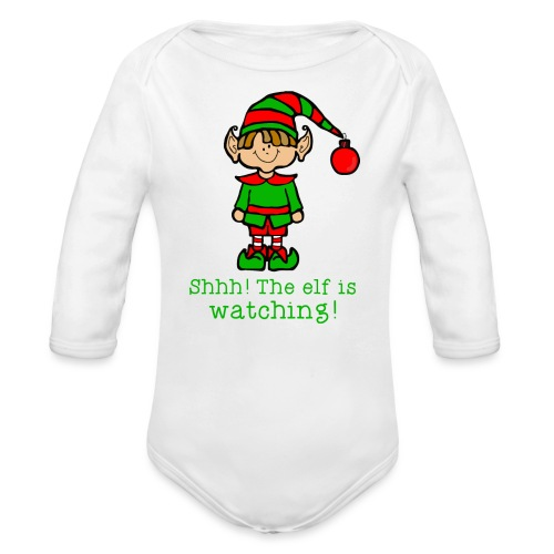 elf - Organic Long Sleeve Baby Bodysuit