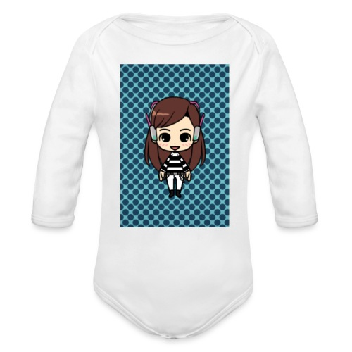 Kids t shirt - Organic Long Sleeve Baby Bodysuit