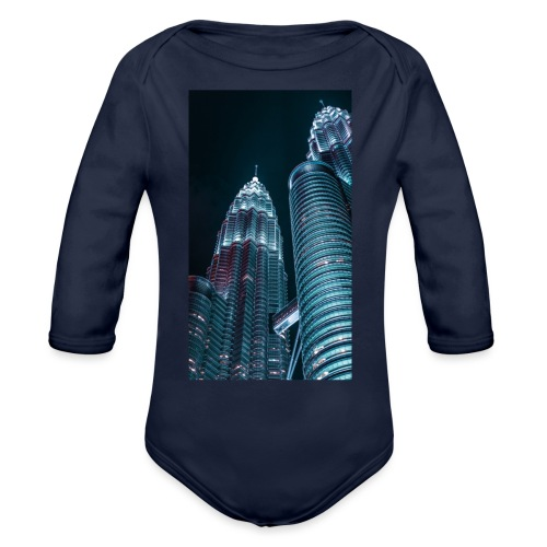 C0618608 28FC 4668 9646 D9AC4629B26C - Organic Long Sleeve Baby Bodysuit