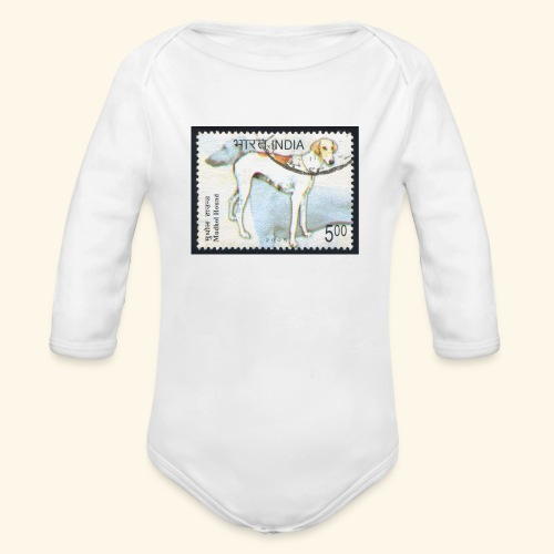 India - Mudhol Hound - Organic Long Sleeve Baby Bodysuit