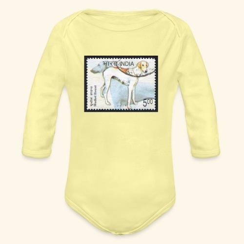 India - Mudhol Hound - Organic Long Sleeve Baby Bodysuit