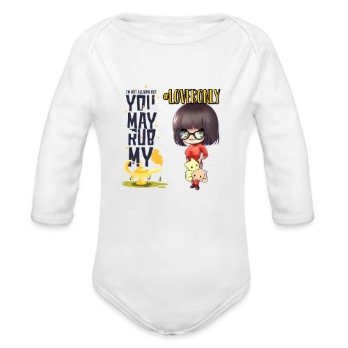LOVER ONLY - Organic Long Sleeve Baby Bodysuit