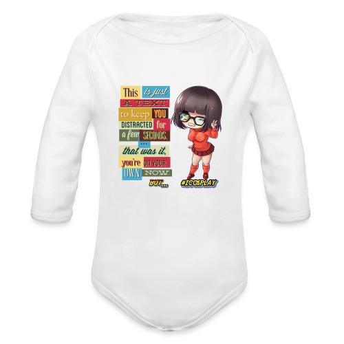 I COSPLAY - Organic Long Sleeve Baby Bodysuit