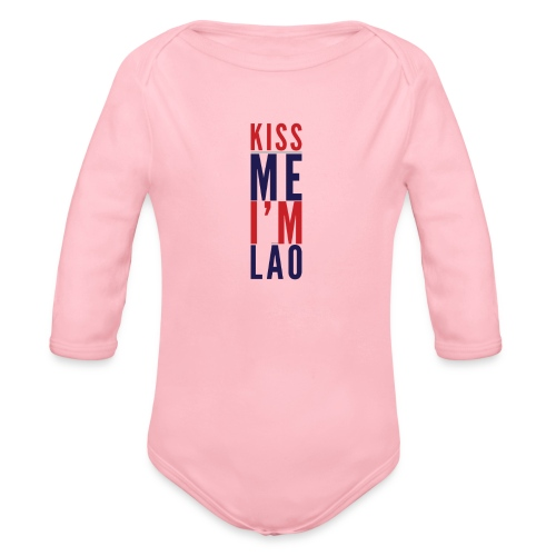 Kiss Me - Organic Long Sleeve Baby Bodysuit