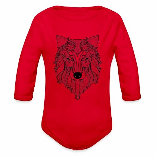 Classy Fox - Organic Long Sleeve Baby Bodysuit
