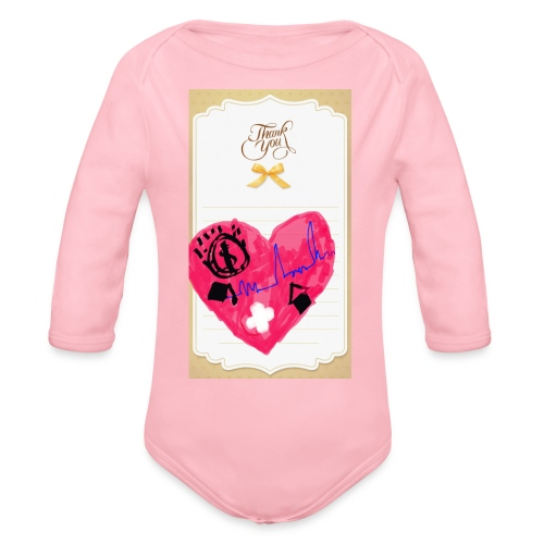 Heart of Economy 1 - Organic Long Sleeve Baby Bodysuit