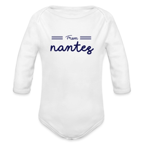 from nantes - Organic Long Sleeve Baby Bodysuit