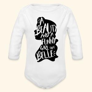 Funny girl - Long Sleeve Baby Bodysuit