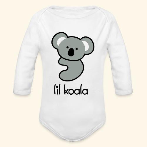lil koala - Organic Long Sleeve Baby Bodysuit