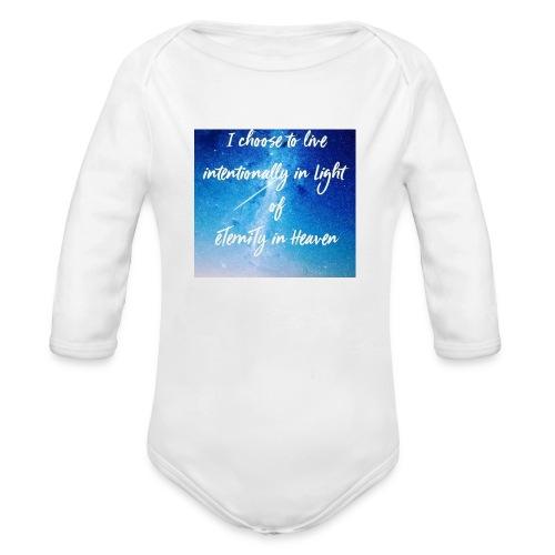 20161206_230919 - Organic Long Sleeve Baby Bodysuit