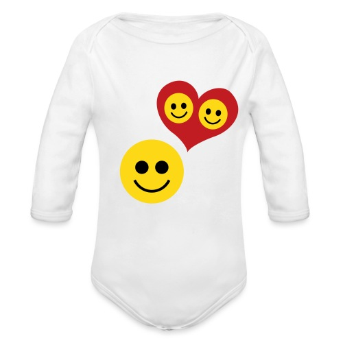Baby Love - Organic Long Sleeve Baby Bodysuit