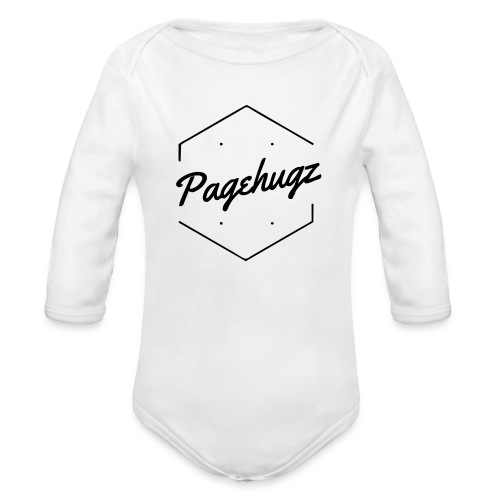 base logo - Organic Long Sleeve Baby Bodysuit