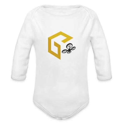 GeoJobe UAV - Organic Long Sleeve Baby Bodysuit