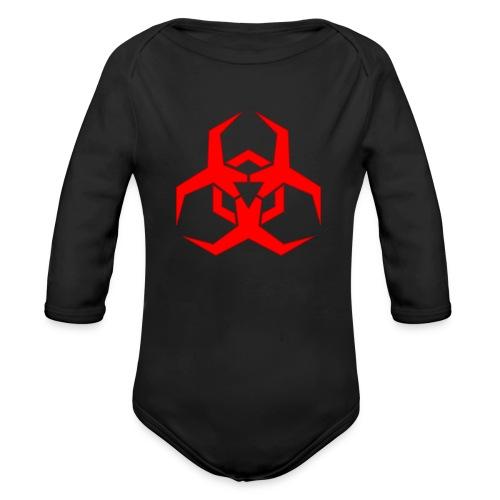 HazardMartyMerch - Organic Long Sleeve Baby Bodysuit