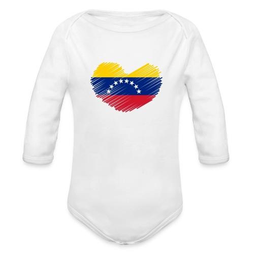 Venezuela - Organic Long Sleeve Baby Bodysuit