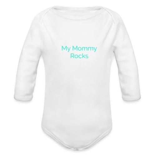 LogoMakr 0hcUWp - Organic Long Sleeve Baby Bodysuit