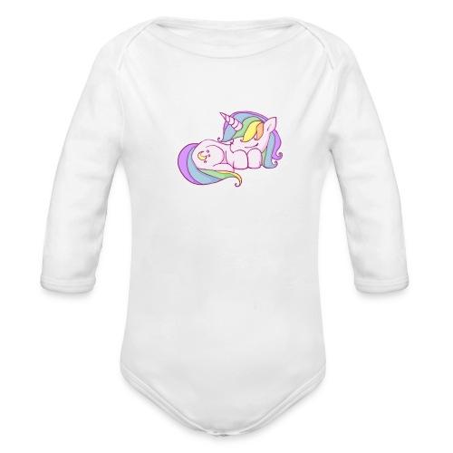 Unicorn Baby - Organic Long Sleeve Baby Bodysuit
