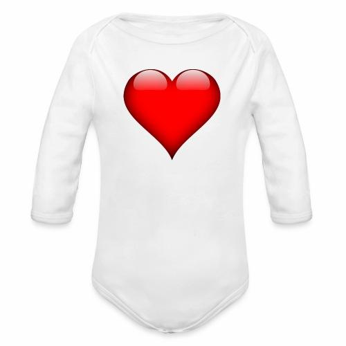 pic - Organic Long Sleeve Baby Bodysuit