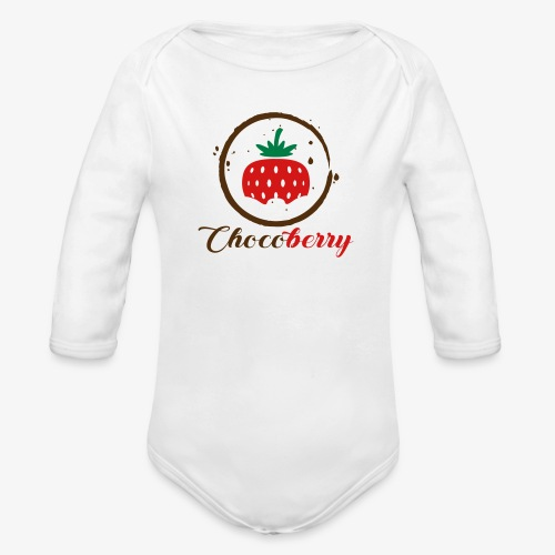 Chocoberry - Organic Long Sleeve Baby Bodysuit