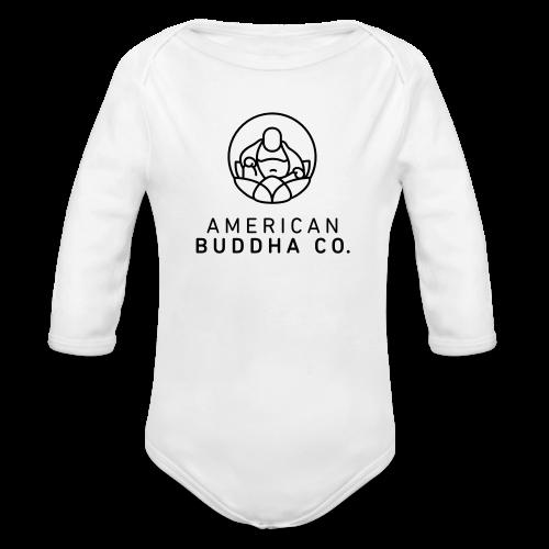 AMERICAN BUDDHA CO. ORIGINAL - Organic Long Sleeve Baby Bodysuit