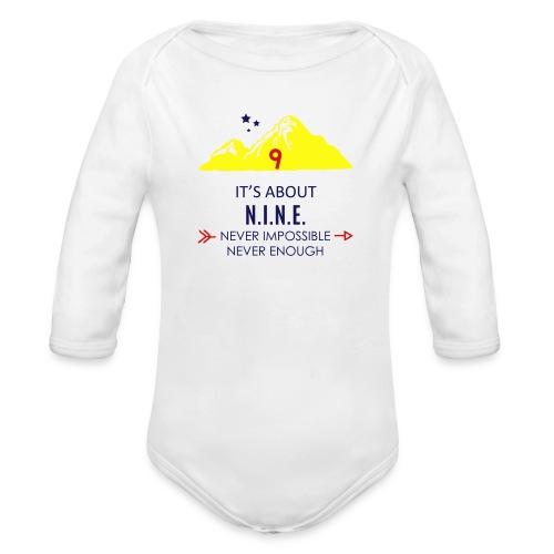 Design Mountain NEW - Organic Long Sleeve Baby Bodysuit