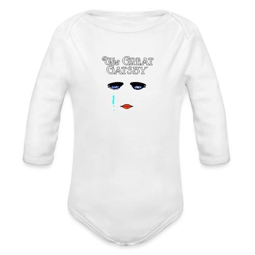 girlyteegraphic - Organic Long Sleeve Baby Bodysuit