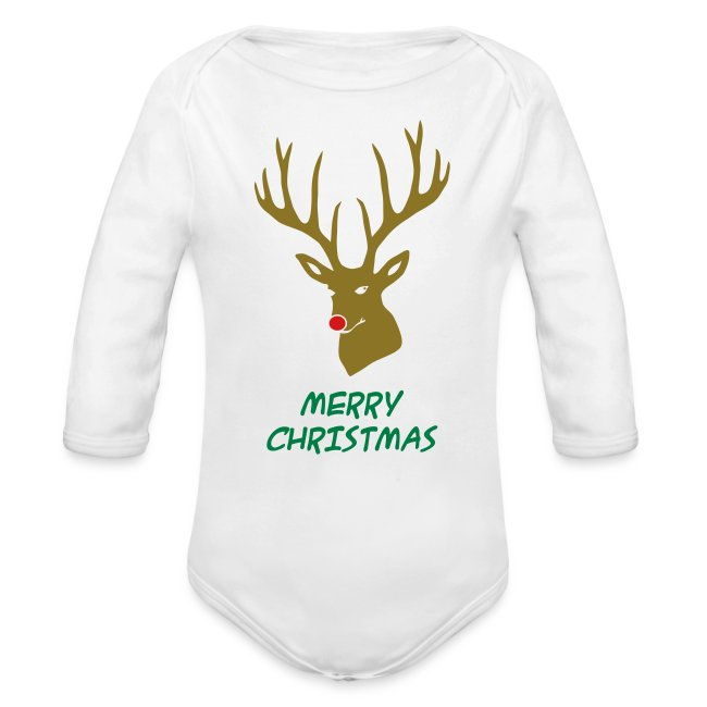 Rudolph Christmas Baby /& Toddler Long Sleeve T-shirt