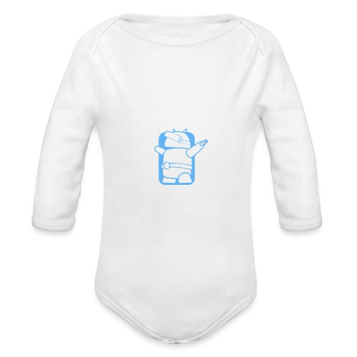 Daydream Believer - Android VR Robot - Organic Long Sleeve Baby Bodysuit