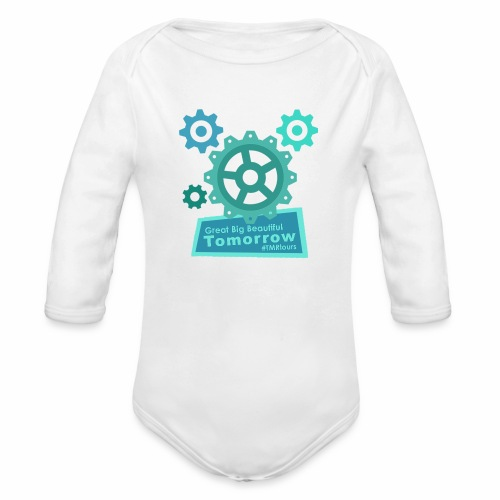 Beautiful Tomorrow - Organic Long Sleeve Baby Bodysuit