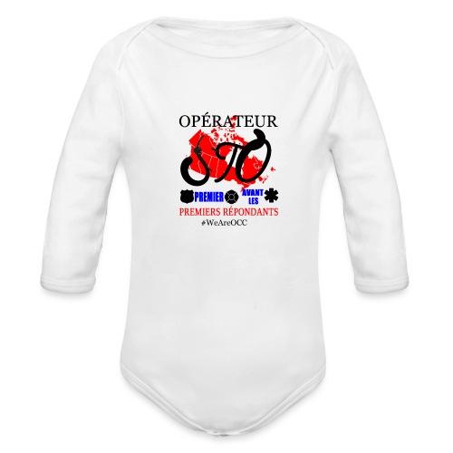 Operateur STO plus size - Organic Long Sleeve Baby Bodysuit