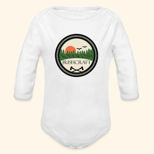 Nova Scotia Bushcraft - Organic Long Sleeve Baby Bodysuit