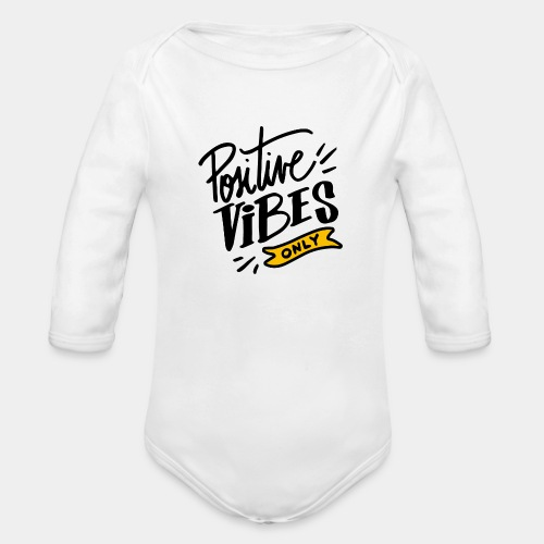 pozitive - Organic Long Sleeve Baby Bodysuit