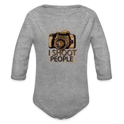 Photographer - Organic Long Sleeve Baby Bodysuit