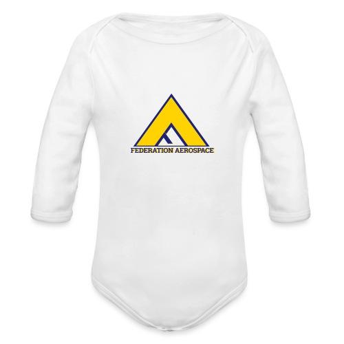 Federation Aerospace - Organic Long Sleeve Baby Bodysuit