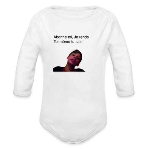 alig6v T-Shirt - Organic Long Sleeve Baby Bodysuit