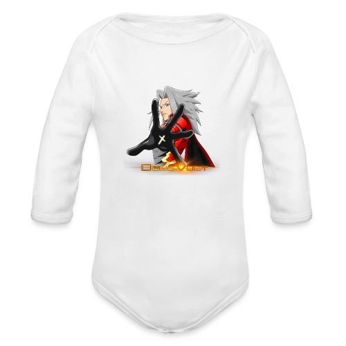 Nova Sera Deus Vult Promotional Image - Organic Long Sleeve Baby Bodysuit