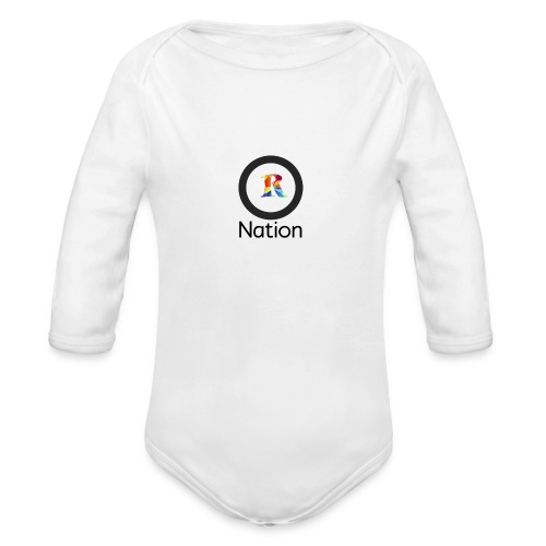 Reaper Nation - Organic Long Sleeve Baby Bodysuit