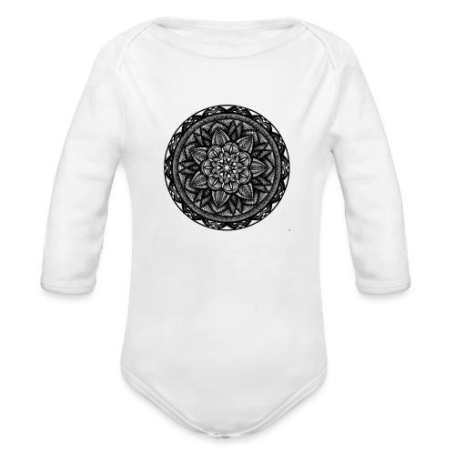 Circle No.2 - Organic Long Sleeve Baby Bodysuit