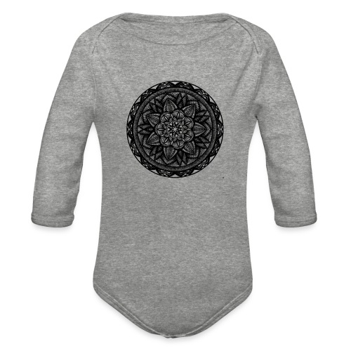 Circle No.2 - Organic Long Sleeve Baby Bodysuit