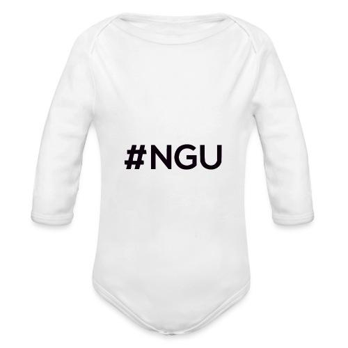 logo 11 final - Organic Long Sleeve Baby Bodysuit
