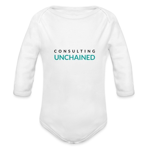 Consulting Unchained - Organic Long Sleeve Baby Bodysuit
