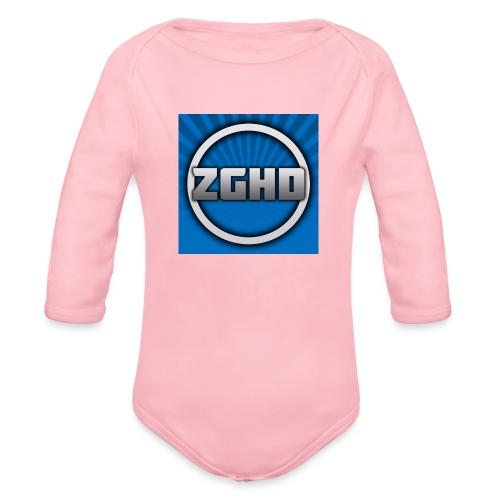 ZedGamesHD - Organic Long Sleeve Baby Bodysuit