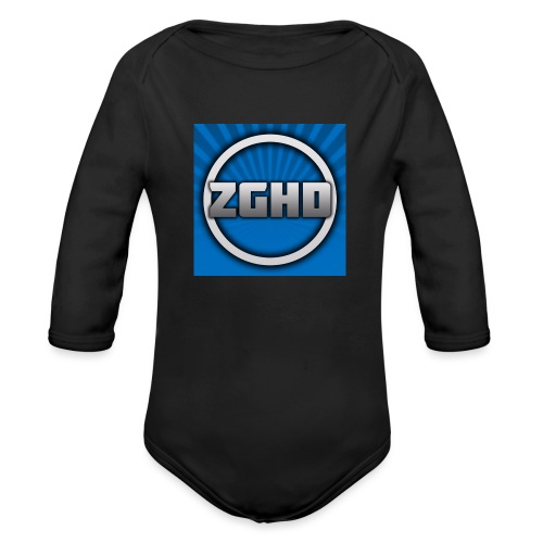 ZedGamesHD - Organic Long Sleeve Baby Bodysuit
