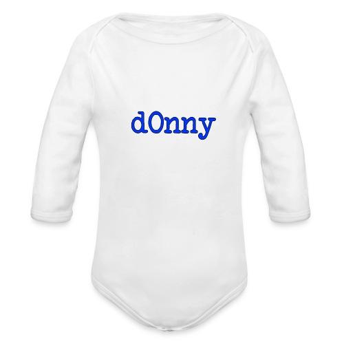 d0nny - Organic Long Sleeve Baby Bodysuit