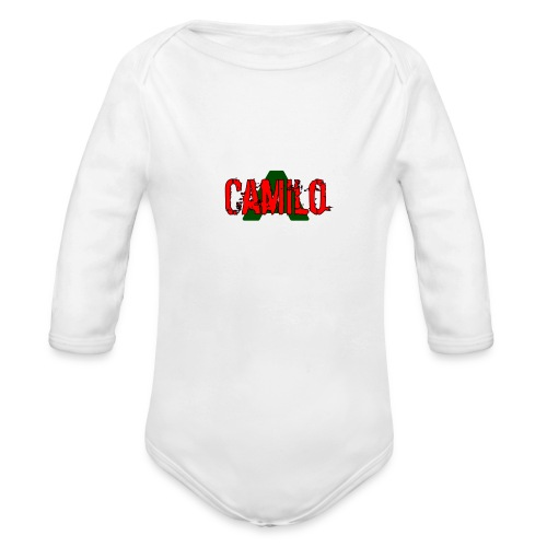 Camilo - Organic Long Sleeve Baby Bodysuit