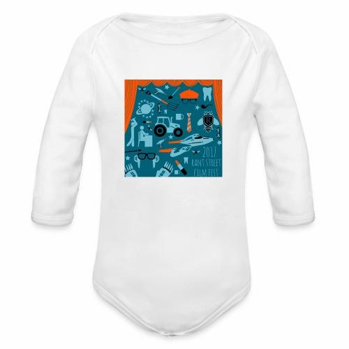 Rant Street Swag - Organic Long Sleeve Baby Bodysuit