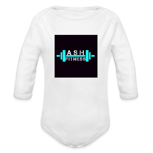 ASH FITNESS ACCESSORIES - Organic Long Sleeve Baby Bodysuit