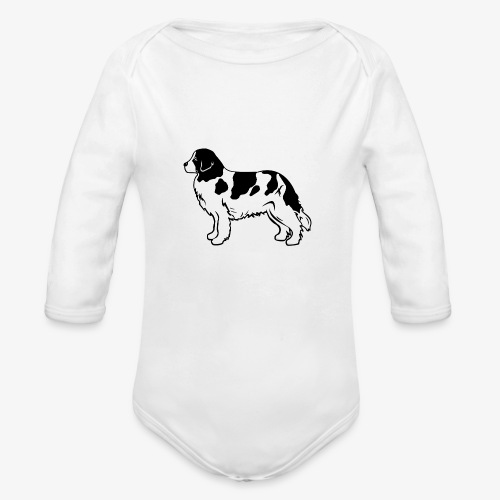 Landseer - Organic Long Sleeve Baby Bodysuit