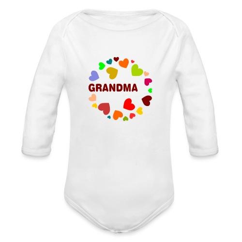 Grandma - Organic Long Sleeve Baby Bodysuit