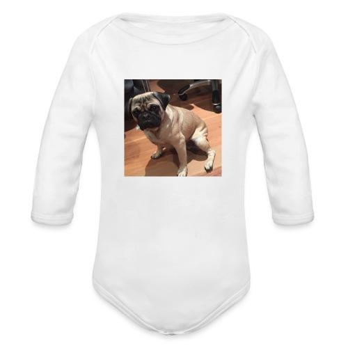 Gizmo Fat - Organic Long Sleeve Baby Bodysuit